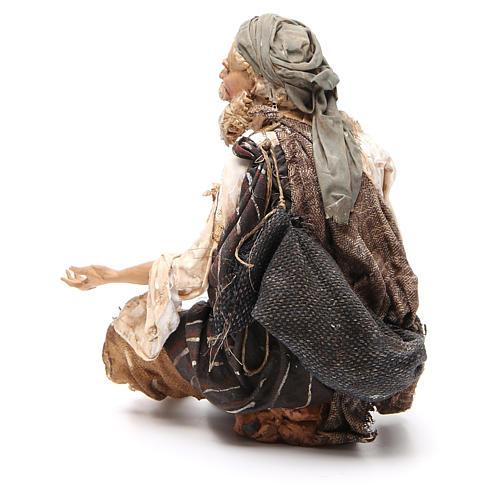 Mendicante seduto 30 cm Angela Tripi 3