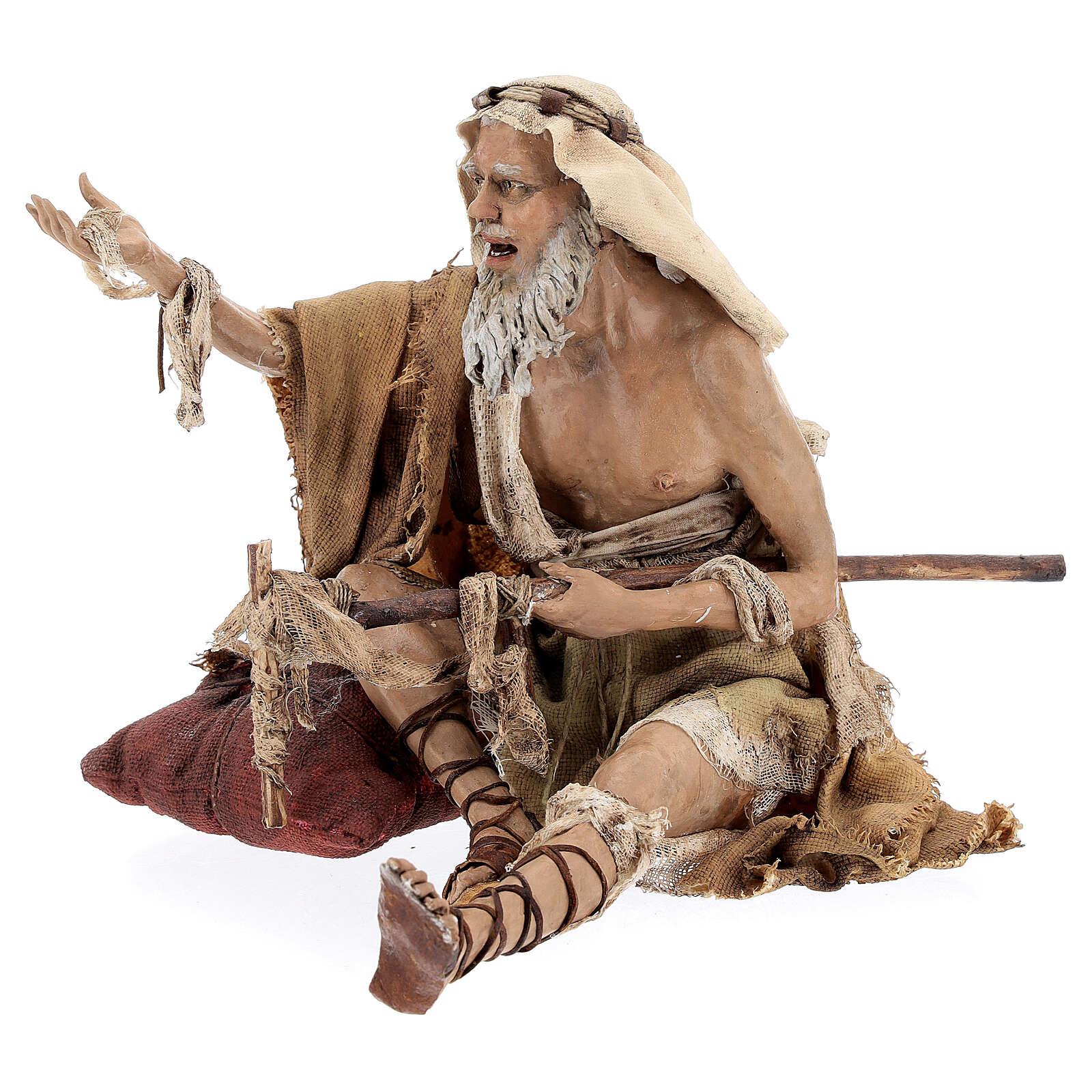 Mendicante storpio 30 cm Angela Tripi 4