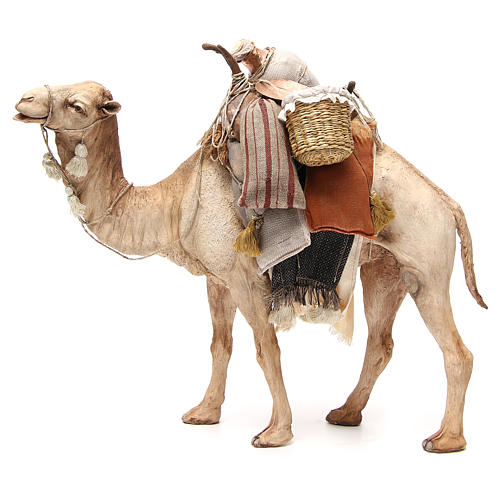 Chameau avec sacs crèche Angela Tripi 30 cm 2