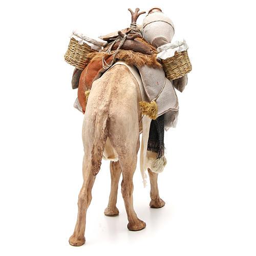 Chameau avec sacs crèche Angela Tripi 30 cm 3