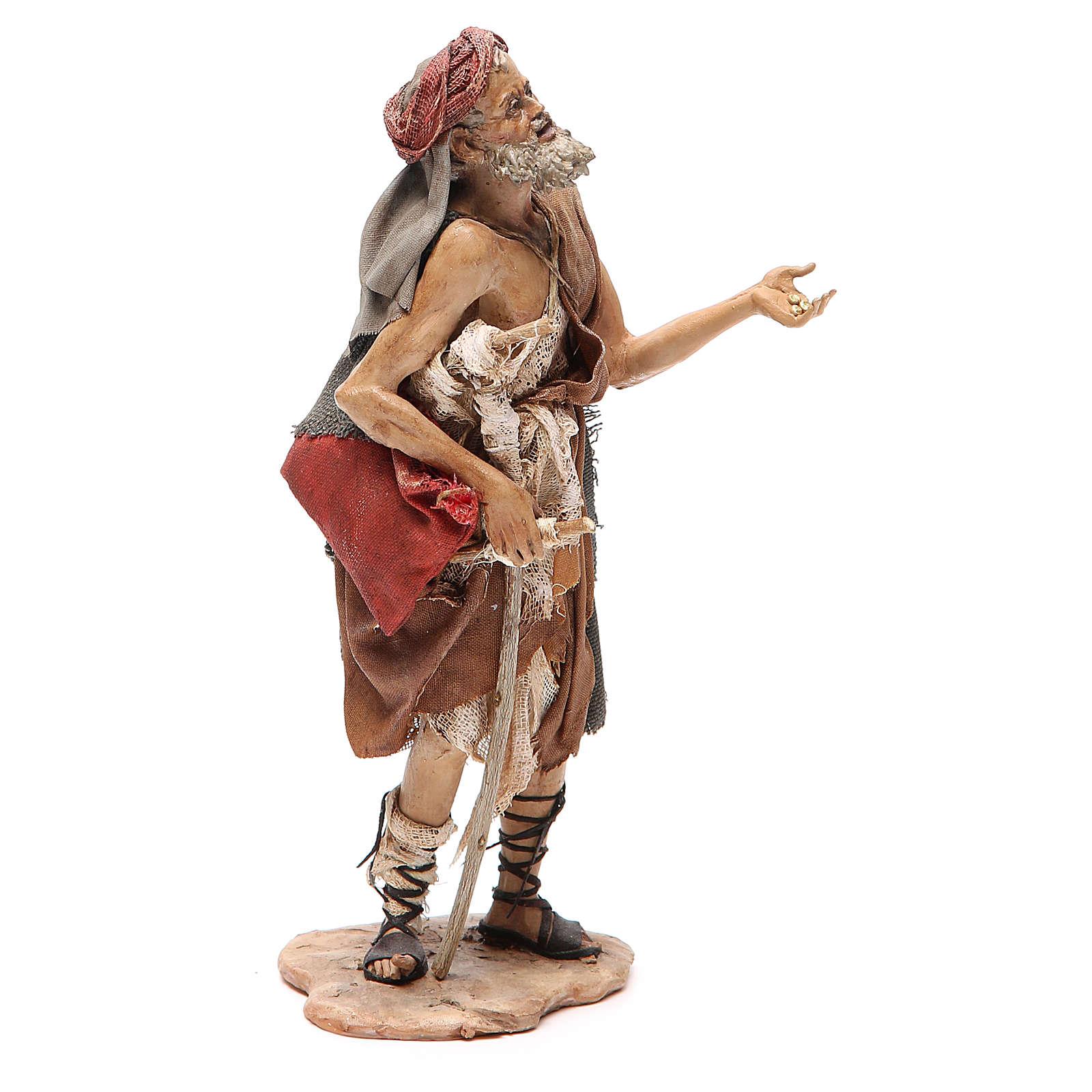 Hombre lisiado Belén Angela Tripi 18 cm 4