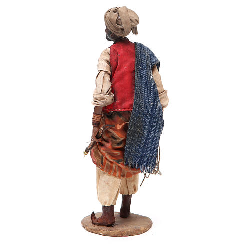 Mulatto con corde Presepe Angela Tripi 18 cm 3