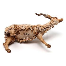 Chèvre 30 cm crèche Angela Tripi en terre cuite s6
