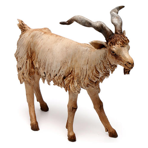 Chèvre 30 cm crèche Angela Tripi en terre cuite 2
