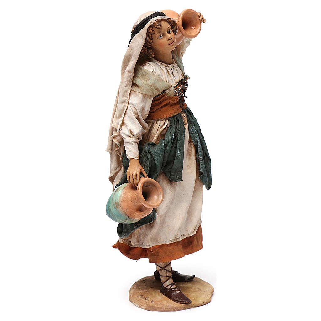 Donna in piedi con anfore cm 30 Angela Tripi 4