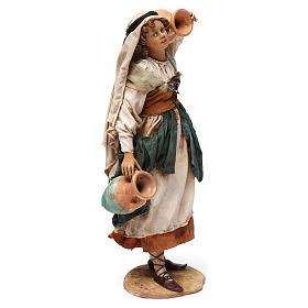 Donna in piedi con anfore cm 30 Angela Tripi s4