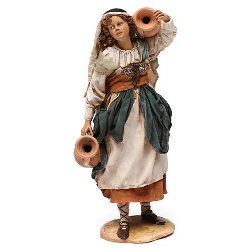 Donna in piedi con anfore cm 30 Angela Tripi 1