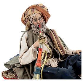 Fumeur de narguilé 30 cm Angela Tripi s2