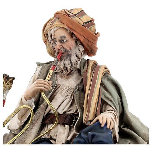 Fumeur de narguilé 30 cm Angela Tripi 7