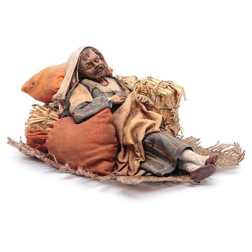 Pastore dormiente seduto 18 cm Angela Tripi 3