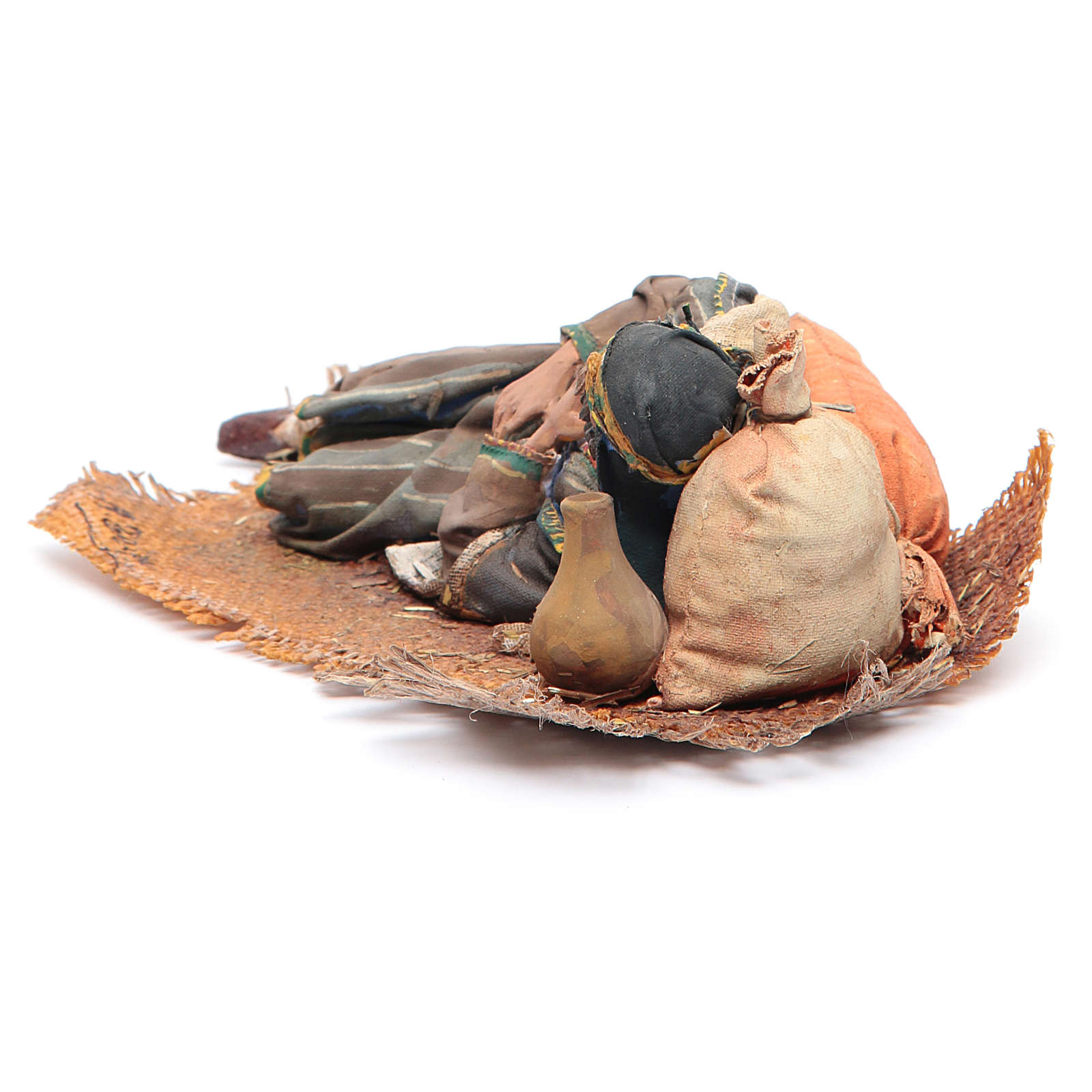 Pastore dormiente sul fianco 18 cm Angela Tripi 4