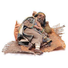 Pastore dormiente sul fianco 18 cm Angela Tripi s1