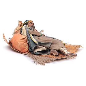 Pastore dormiente sul fianco 18 cm Angela Tripi s3