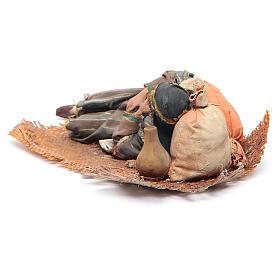 Pastore dormiente sul fianco 18 cm Angela Tripi s4