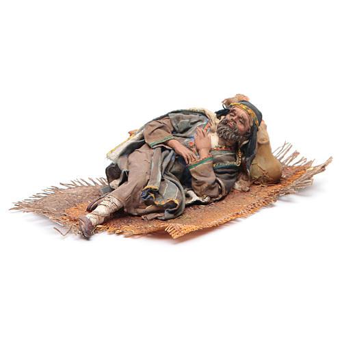 Pastore dormiente sul fianco 18 cm Angela Tripi 2