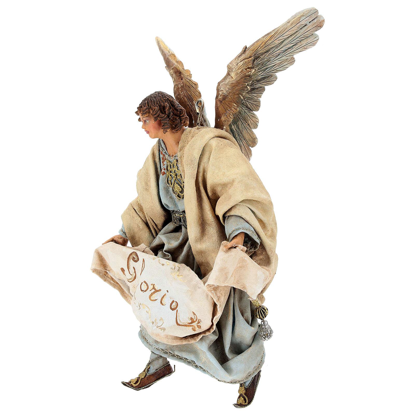 Glory Angel in light blue 18cm Angela Tripi 4