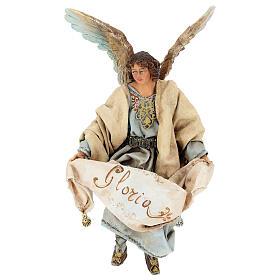 Glory Angel in light blue 18cm Angela Tripi s1
