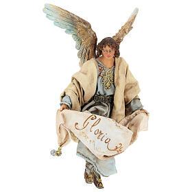 Glory Angel in light blue 18cm Angela Tripi s4