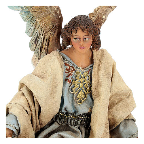 Glory Angel in light blue 18cm Angela Tripi 2