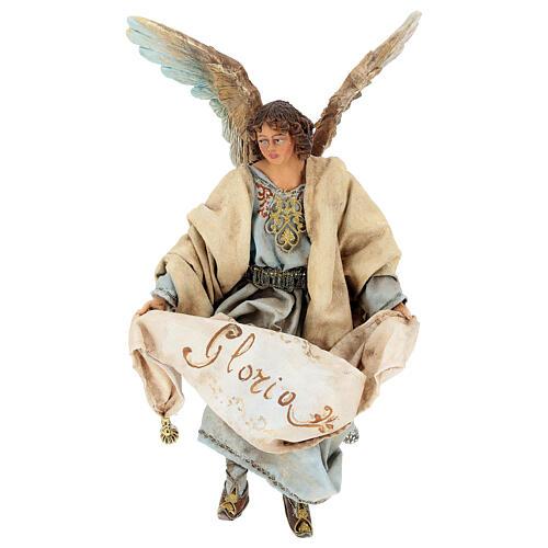 Glory Angel in light blue 18cm Angela Tripi 1
