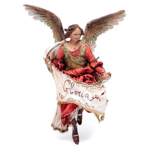 Angelo Gloria rosso 18 cm Angela Tripi 1