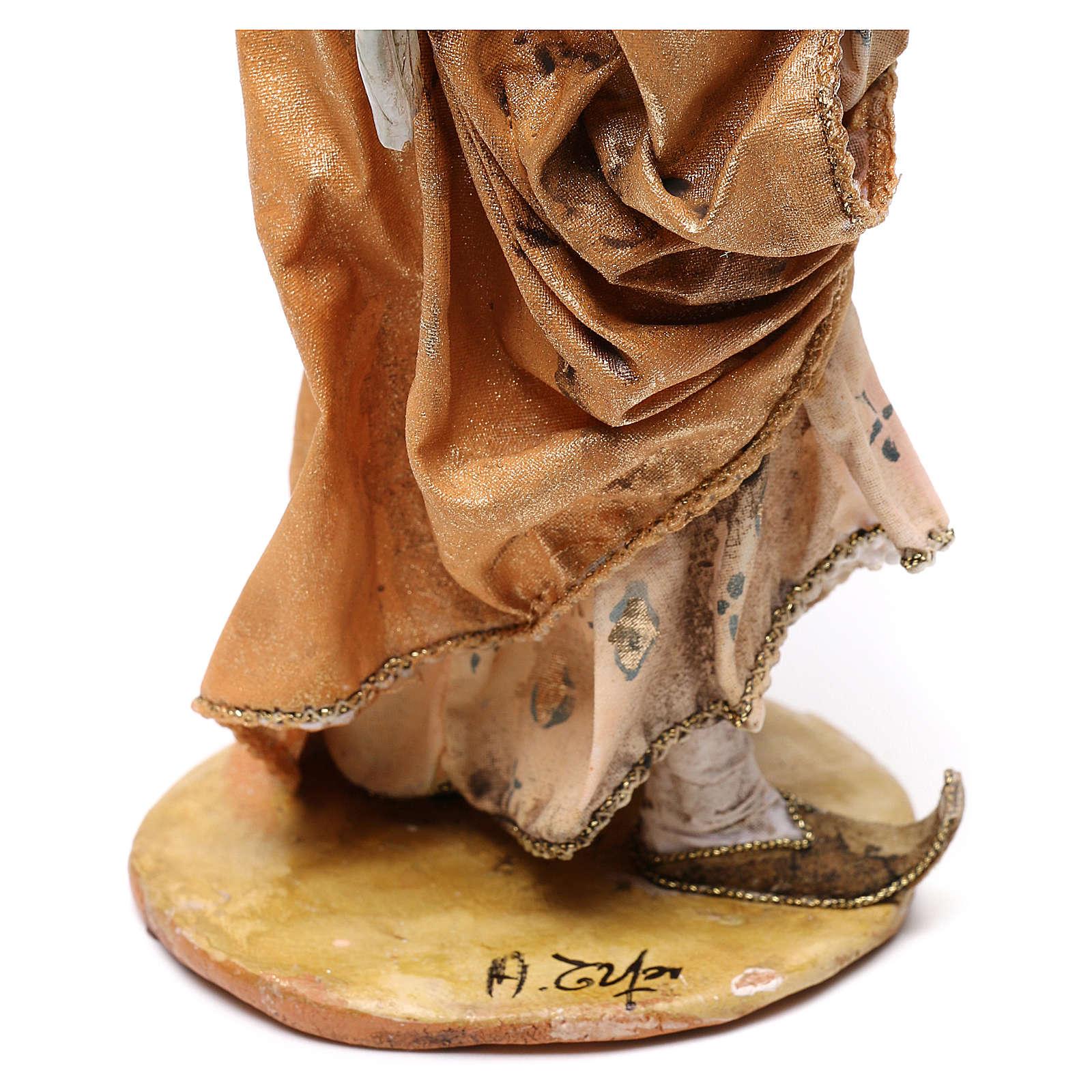 Ángel de pie adorando 18 cm Angela Tripi 4