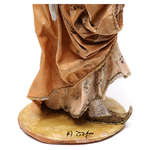 Ángel de pie adorando 18 cm Angela Tripi 6