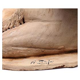 Cammello accovacciato con dormiente 18 cm Angela Tripi s6
