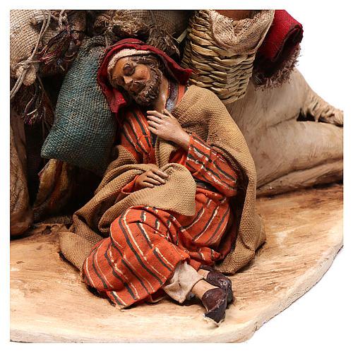Cammello accovacciato con dormiente 18 cm Angela Tripi 2