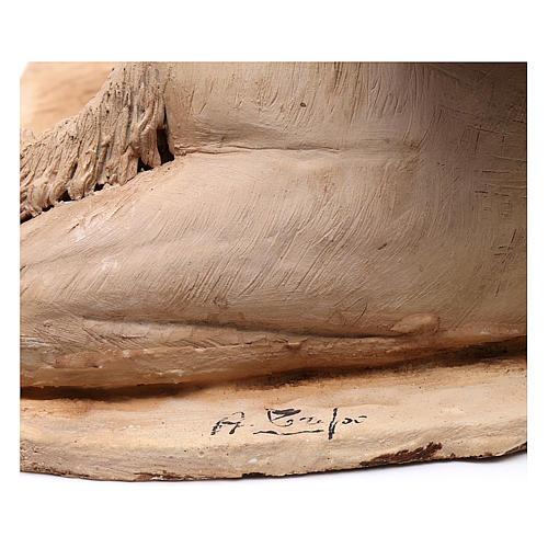 Cammello accovacciato con dormiente 18 cm Angela Tripi 6