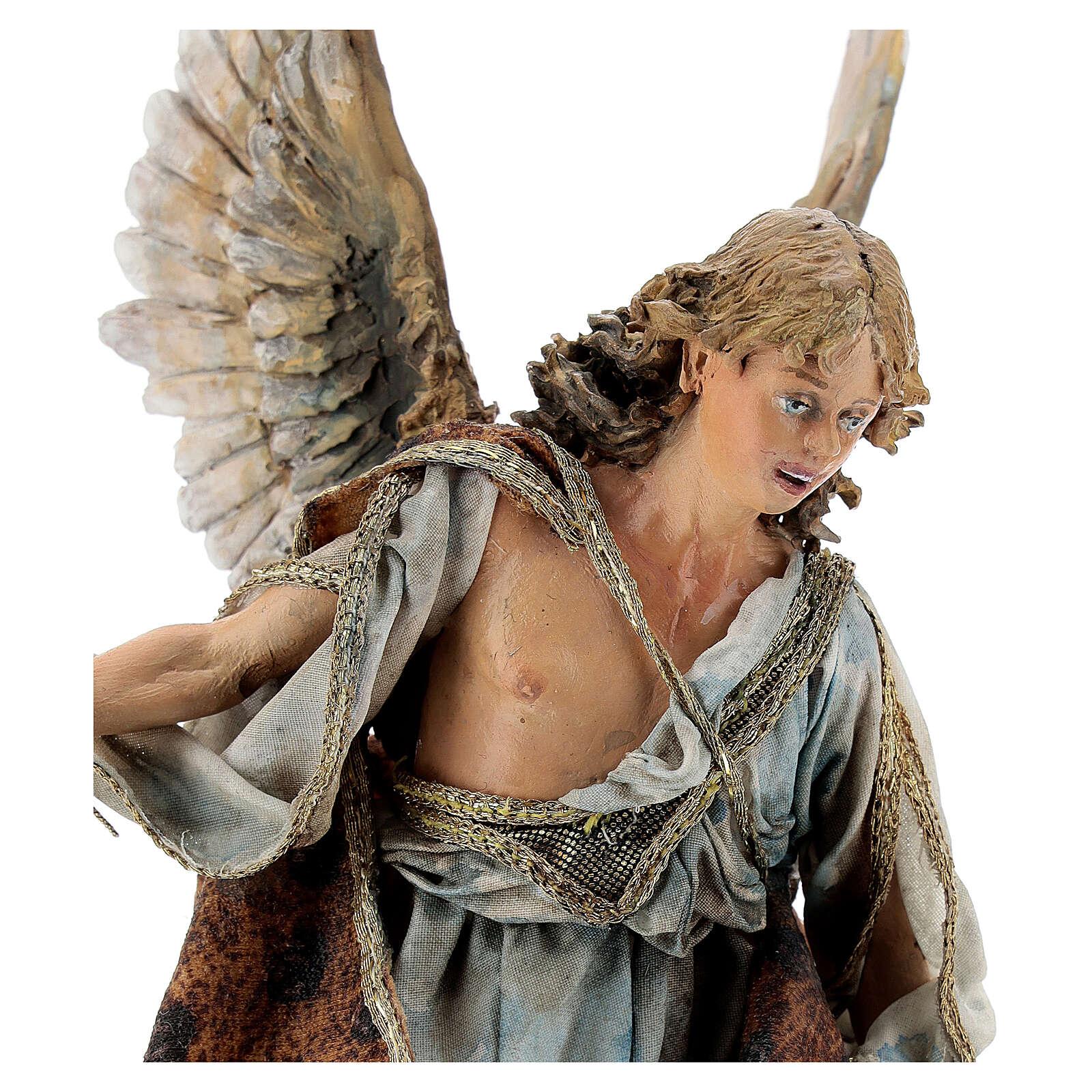 Ange debout qui annonce 18 cm Angela Tripi 4