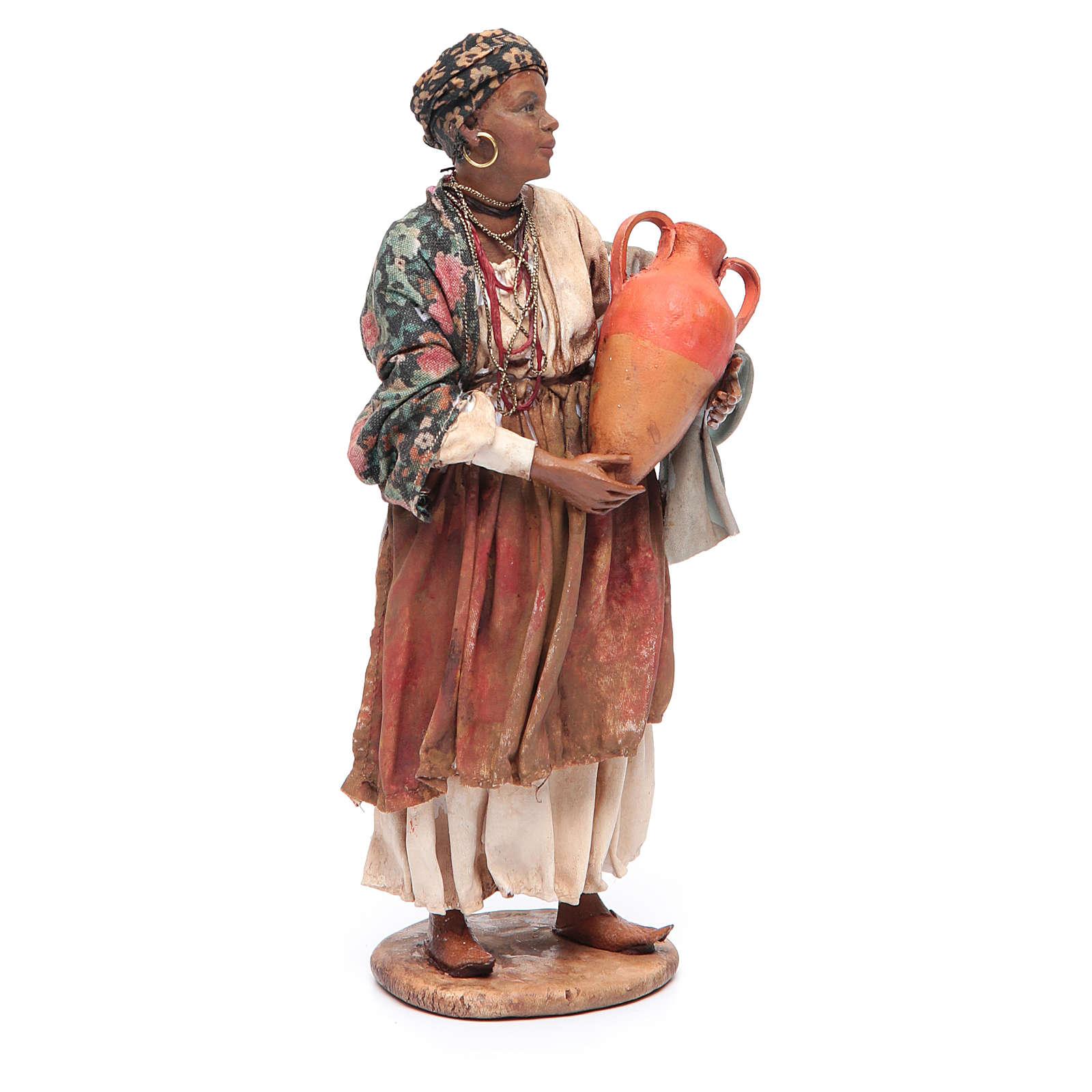 Mora in piedi con anfore 18 cm Angela Tripi 4