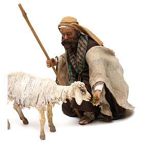 Kneeling Shepherd 18cm Angela Tripi s2