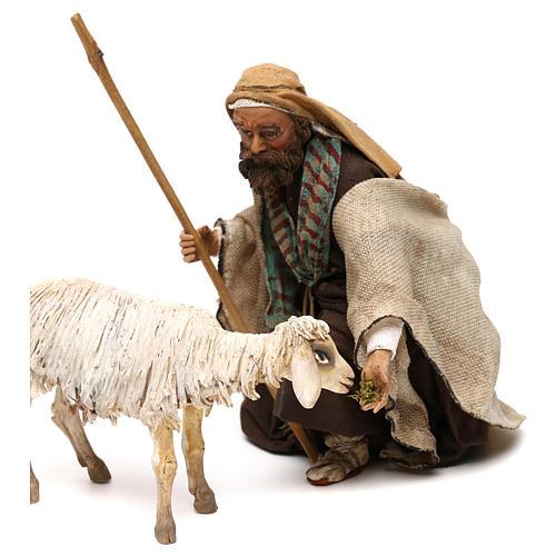 Kneeling Shepherd 18cm Angela Tripi 2