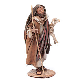 Pastore pecora in braccio 13 cm Angela Tripi s4