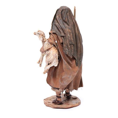 Pastore pecora in braccio 13 cm Angela Tripi 3