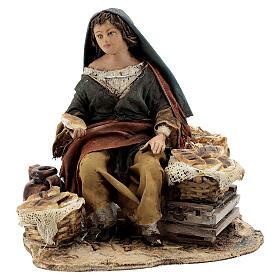 Vendeuse de pain 13 cm Angela Tripi s1