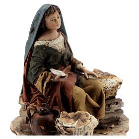 Vendeuse de pain 13 cm Angela Tripi s2