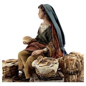Vendeuse de pain 13 cm Angela Tripi s4
