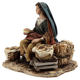 Vendeuse de pain 13 cm Angela Tripi s5