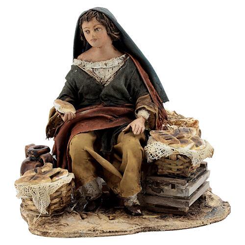 Vendeuse de pain 13 cm Angela Tripi 1