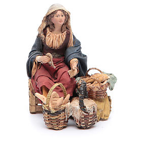 Venditrice di pane 13 cm Angela Tripi s1