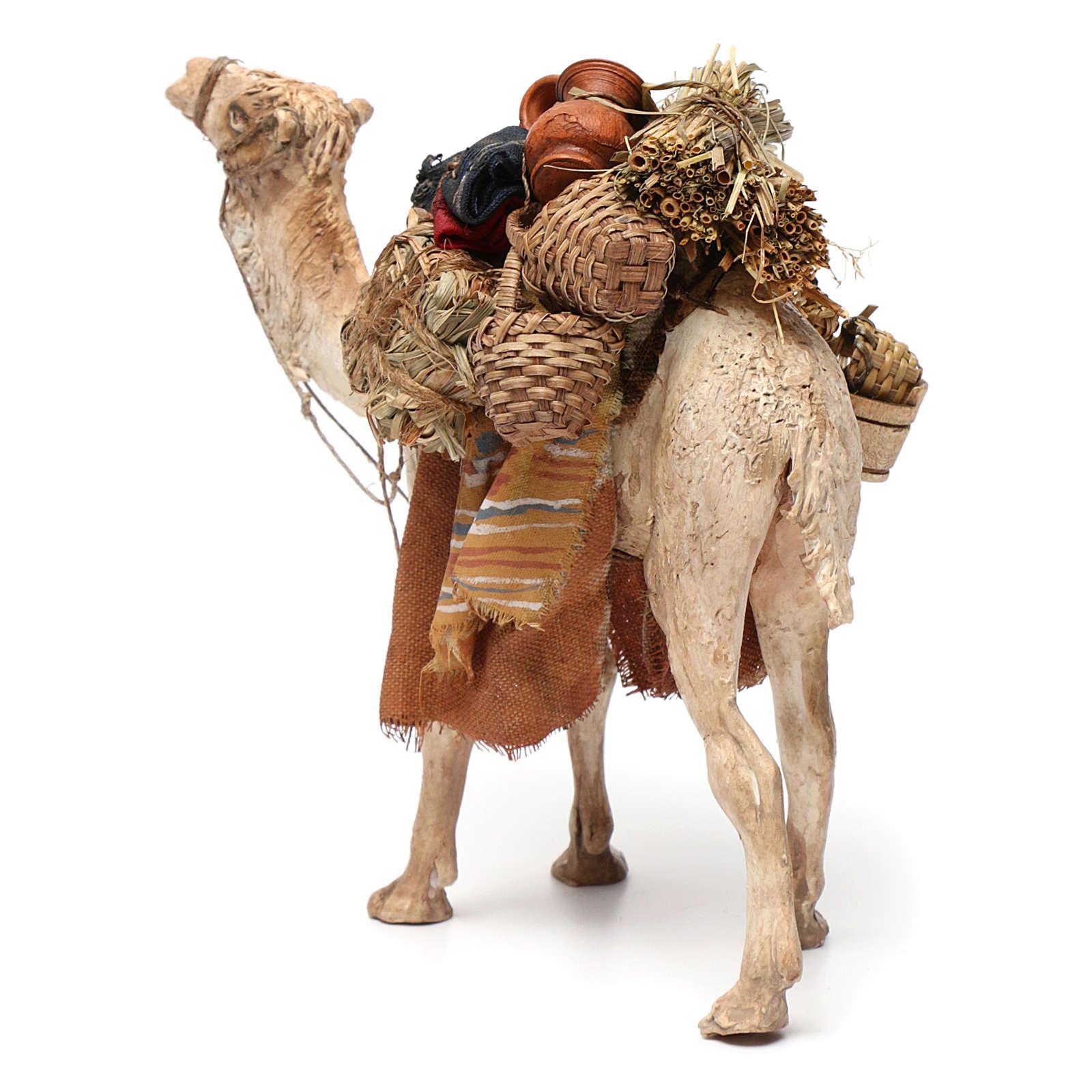 Camello cargado de pie 13 cm belén Angela Tripi 4