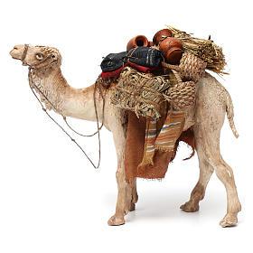 Camello cargado de pie 13 cm belén Angela Tripi s2