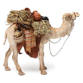 Camello cargado de pie 13 cm belén Angela Tripi s3