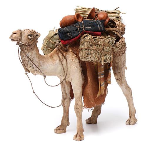 Camello cargado de pie 13 cm belén Angela Tripi 1