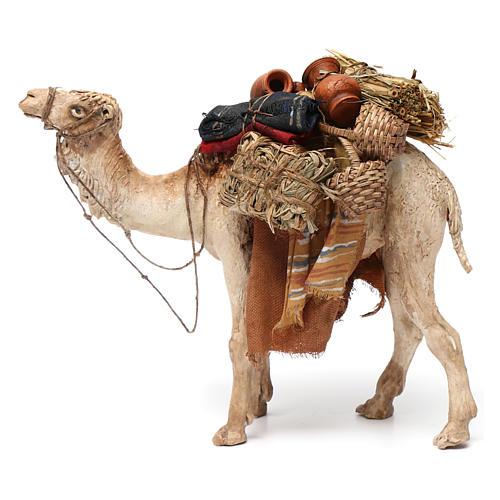 Camello cargado de pie 13 cm belén Angela Tripi 2