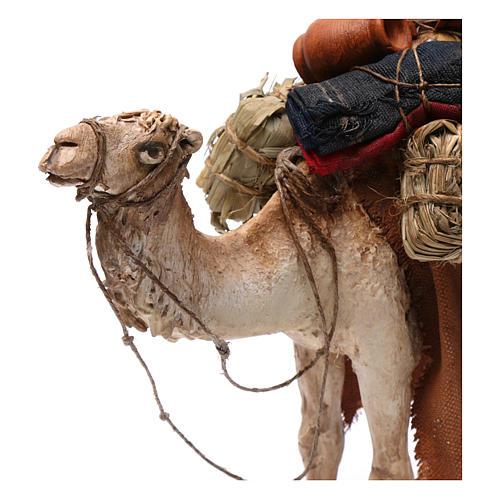 Camello cargado de pie 13 cm belén Angela Tripi 5