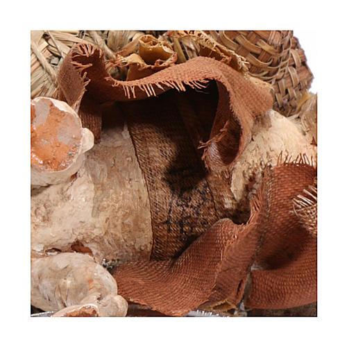 Camello cargado de pie 13 cm belén Angela Tripi 6