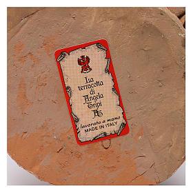 Pastore con agnelli 30 cm presepe Angela Tripi s7